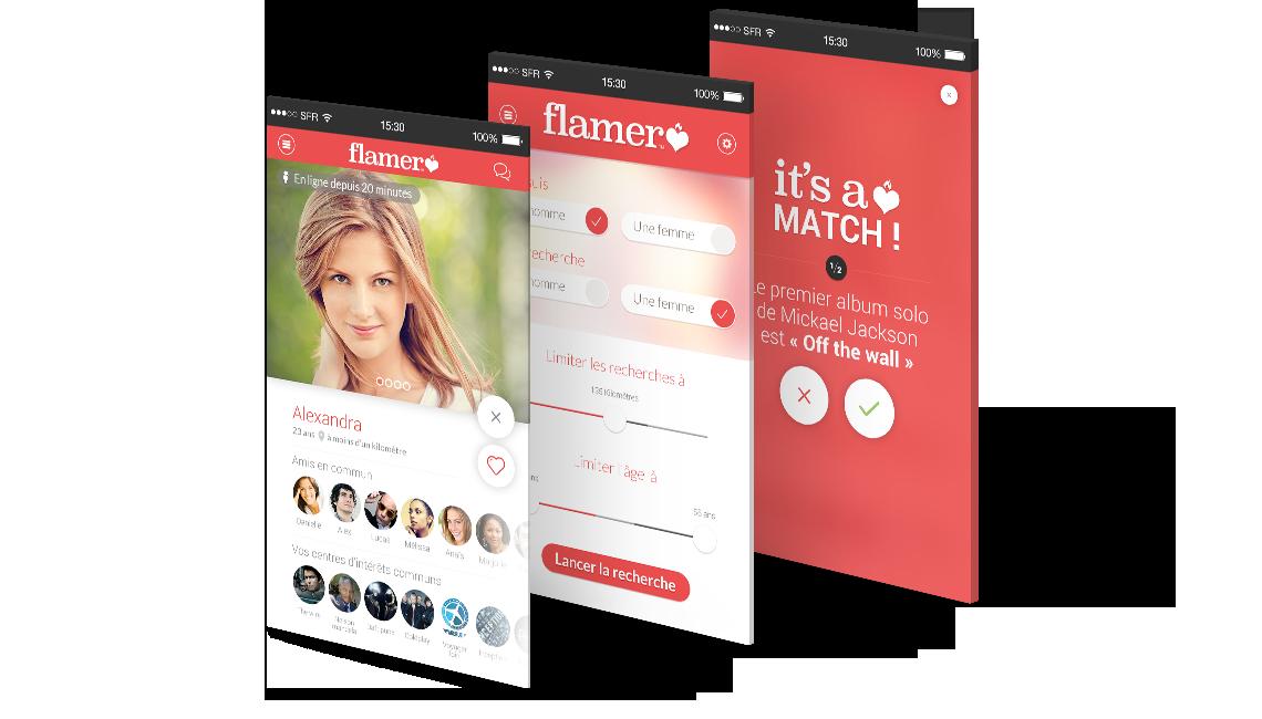 ecrans flamer - Application de rencontre Flammer